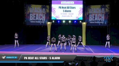 PA Heat All Stars - 5 Alarm [2021 L6 Senior - XSmall Day 2] 2021 ACDA: Reach The Beach Nationals