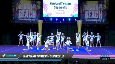 Maryland Twisters - Supercells [2021 L6 Junior Day 1] 2021 ACDA: Reach The Beach Nationals