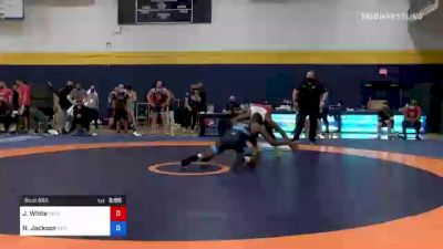 86 kg Round Of 16 - Jaison White, New England Regional Training Center vs Nathan Jackson, New York Athletic Club