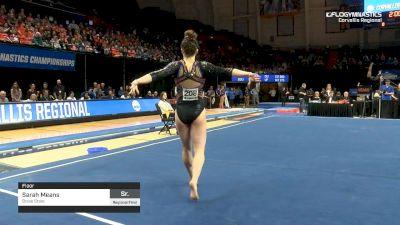 Sarah Means - Floor, Boise State - 2019 NCAA Gymnastics Regional Championships - Oregon State