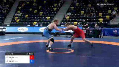 125 kg Prelims - Derek White, TMWC / Cowboy RTC vs Daniel Chaid, TMWC / California RTC