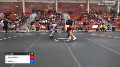 70 kg Consolation - Jakob Bergeland, Gopher Wrestling Club - RTC vs Brandon LaRue, New Jersey