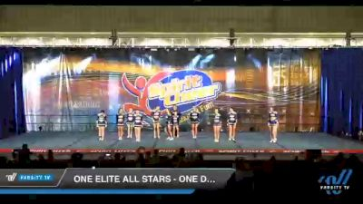 One Elite All Stars - One Desire [2020 L3 Senior Coed - D2 Day 2] 2020 All American DI & DII Nationals