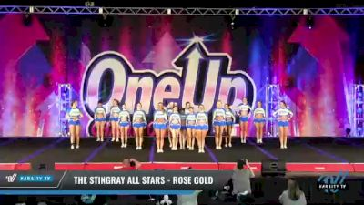 The Stingray All Stars - Rose Gold [2021 L3 Senior - Small Day 2] 2021 One Up National Championship