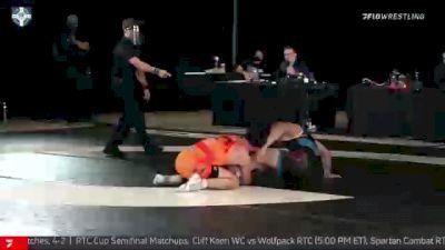 74 kg 5th Place - Carson Kharchla, Ohio RTC vs Elroy Perkin, Gopher WC