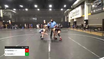 132 lbs Consolation - Reagen Gallaway, Nebraska vs Skylar Connelly, Montana Girls