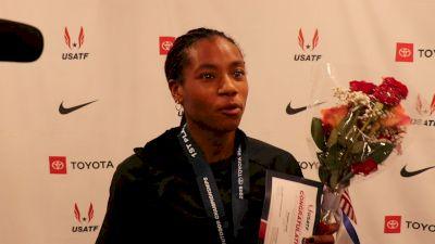 Dezerea Bryant Wants Oreo Ice Cream After 200m Title