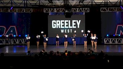 Greeley West Poms [2020 Small Varsity Game Day] 2020 NDA High School Nationals
