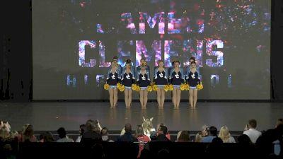 James Clemens High School Blue Angels [2020 Large Varsity Pom Finals] 2020 NDA High School Nationals