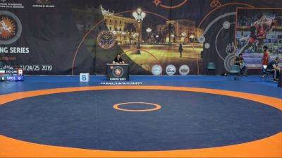 74kg Semi Frank Chamizo, Italy vs Khetag Tsabolov, Russia