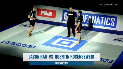Jason Rau vs Quentin Rosenzweig BJJ Fanatics Submission Only Grand Prix