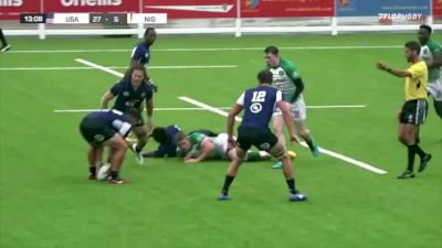 USA Rugby Rolling Against Nigeria