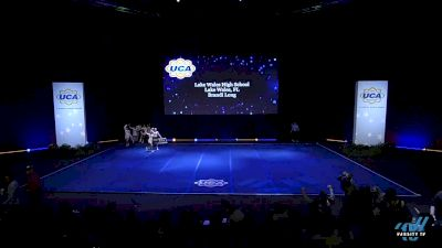 Lake Wales High School [2019 Medium Varsity Non Tumbling Semis] 2019 UCA National High School Cheerleading Championship