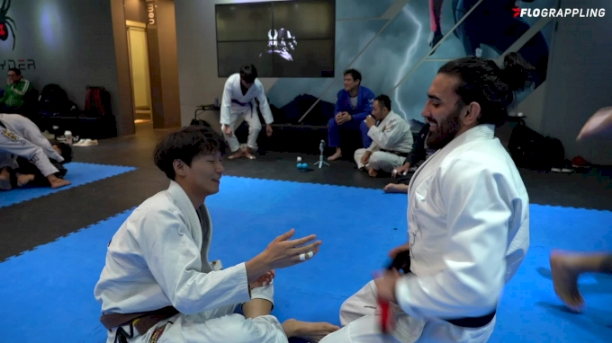 Edwin Najmi Rolls With Brown Belt