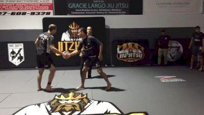 Jason Rau vs Pedro Marinho Jitzking 185lb Tournament