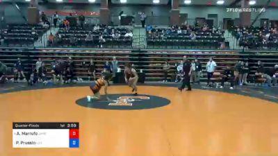 116 lbs Quarterfinal - Arianna Marrufo, Jamestown vs Peyton Prussin, Life