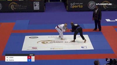 Michal Lelek vs Minas Habte 2019 Abu Dhabi Grand Slam London