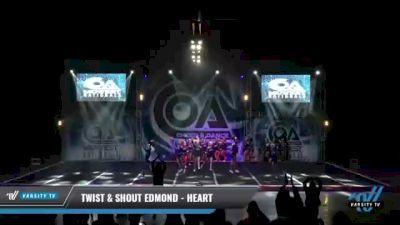 Twist & Shout Edmond - Heart [2021 L5 Junior - Large Day 1] 2021 COA: Midwest National Championship