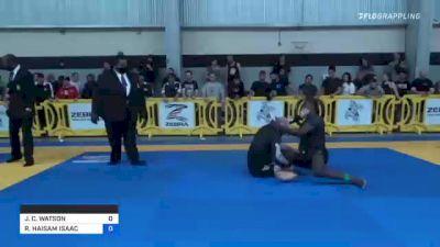 JOSEPH C. WATSON vs RIDA HAISAM ISAAC 2021 Pan IBJJF Jiu-Jitsu No-Gi Championship