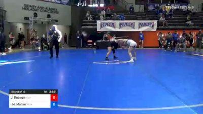 130 lbs Prelims - Jordynn Robson, Southern Oregon vs Mea Mohler, Texas Wesleyan