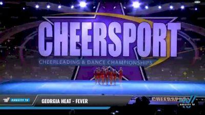Georgia Heat - Fever [2021 L1 Mini - D2 Day 2] 2021 CHEERSPORT National Cheerleading Championship