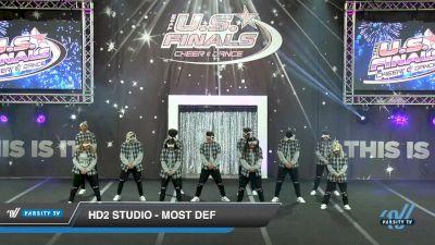 HD2 Studio - Most Def [2018 Open Coed Hip Hop Day 2] US Finals: Las Vegas
