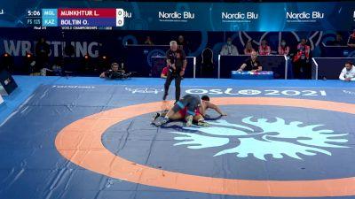 125 kg Final 3-5 - Lkhagvagerel Munkhtur, Mongolia vs Oleg Boltin, Kazakhstan