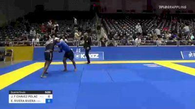 JORGE F CHAVEZ POLACK vs EDRICK RIVERA RIVERA 2021 World IBJJF Jiu-Jitsu No-Gi Championship