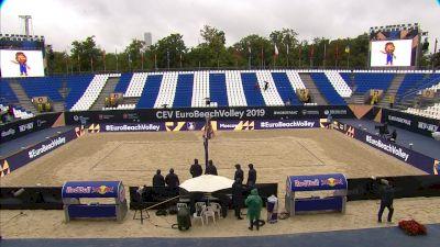 Full Replay - Liliana-Elsa (ESP) vs Graudina-Kravcenoka (LAT) | (W) CEV Beach Semifinal 1 - Liliana-Elsa vs Graudina-Kravcenoka |CEV - Aug 10, 2019 at 1:50 AM CDT