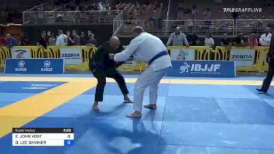 ERIC JOHN VOGT vs DAVID LEE SKINNER 2021 Pan Jiu-Jitsu IBJJF Championship
