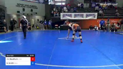 130 lbs Prelims - Alexandra Baudhuin, Jamestown vs Sophia Smith, Oklahoma City
