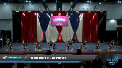 Tech Cheer - Deputies [2021 L1 Youth - Novice Day 2] 2021 The American Spectacular DI & DII