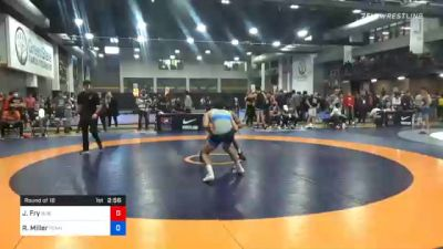 57 kg Prelims - Joziah Fry, Buies Creek Wrestling Club vs Ryan Miller, Pennsylvania RTC