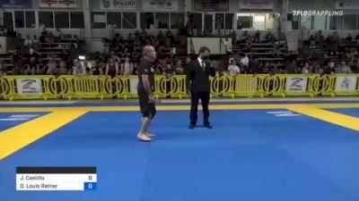 Joseph Castillo vs David Louis Ratner 2021 Pan IBJJF Jiu-Jitsu No-Gi Championship