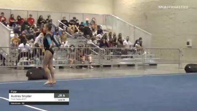 Audrey Snyder - Floor, First State #127 - 2021 USA Gymnastics Development Program National Championships