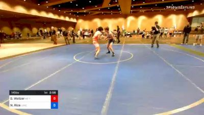 145 lbs Final - Griffin Walizer, M2 Training Center vs Noah Rice, Lancaster Alliance Wrestling Club (LAW)