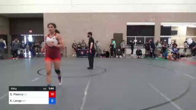 72 kg Consolation - Jennifer Tongi, WA vs Yvette Garcia, CA