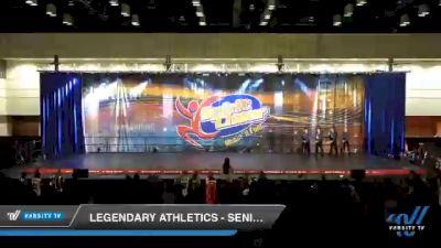 Legendary Athletics - Senior Elite [2020 Senior - Hip Hop Day 2] 2020 All American DI & DII Nationals