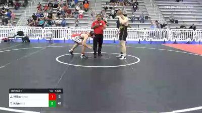 182 lbs Prelims - Josh Miller, All-American Wrestling Club vs Trey Kibe, Diesel