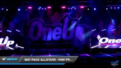 Mat Pack Allstars - Paw Prints [2019 - Tiny Novice 1 Day 1] 2019 One Up National Championship