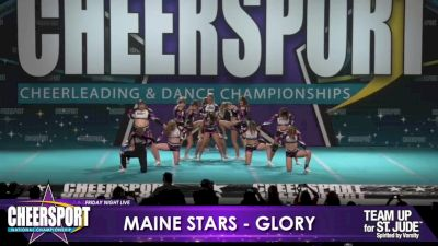Maine Stars - Glory [2020 L6 Senior XSmall Coed Day 1] 2020 CHEERSPORT Nationals: Friday Night Live