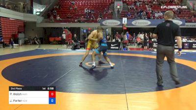 77 lbs 3rd Place - Peyton Walsh, Marines vs Jesse Porter, New York Athletic Club