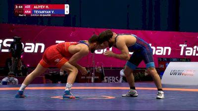 65kg Gold - Vazgen Tevanyan, ARM vs Haji Aliyev, AZE