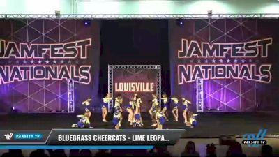Bluegrass Cheercats - Lime Leopards [2021 L2 Junior - D2 - Small Day 2] 2021 JAMfest: Louisville Championship