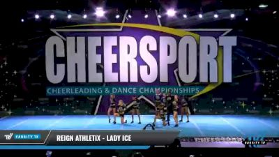 Reign Athletix - LADY ICE [2021 L2 Junior - D2 - Small - A Day 2] 2021 CHEERSPORT National Cheerleading Championship