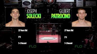 Joe Solecki vs. Gilbert Patrocino - Ring of Combat 66 Replay