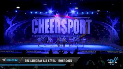 The Stingray All Stars - Rose Gold [2021 L3 Senior - Small Day 2] 2021 CHEERSPORT National Cheerleading Championship