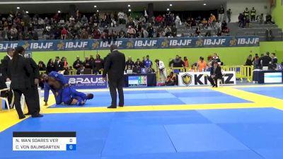 NATHALIE WAN SOARES VERAS RIBEIR vs CHARLOTTE VON BAUMGARTEN 2020 European Jiu-Jitsu IBJJF Championship