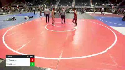 132 lbs Consolation - Keyton Young, Palisade vs Darly Mills, Sierra WC