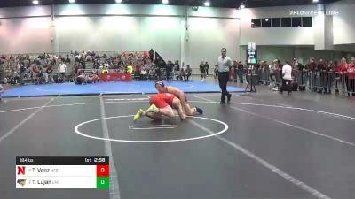 184 lbs Consolation - Taylor Venz, Nebraska vs Taylor Lujan, Northern Iowa